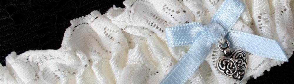 kousenbandblauwstrikje