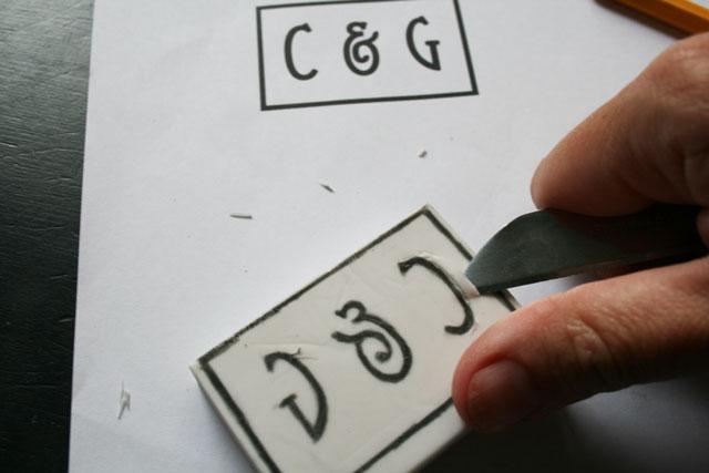 DIY-stempel-initialen-stap2