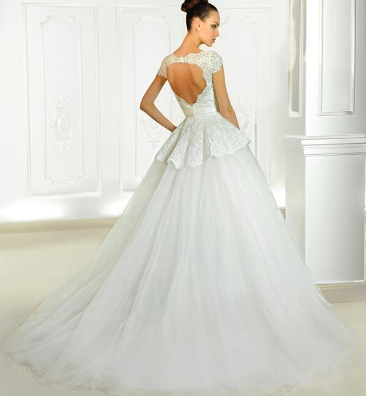 Bruiloft trend open rug