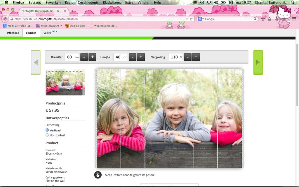 review foto op hout van photogifts.nl