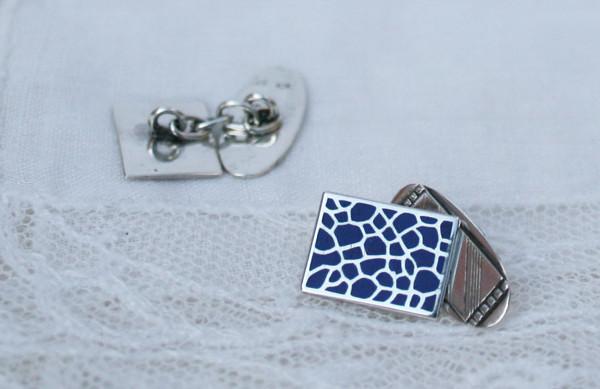 bijzondere vintage manchetknopen voor bruiloft something blue