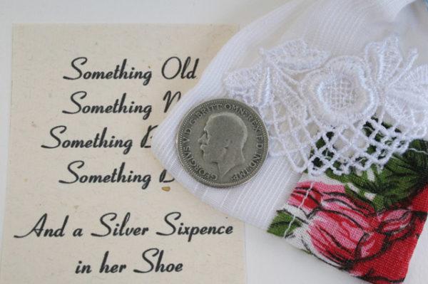 silver sixpence bruiloft bruid
