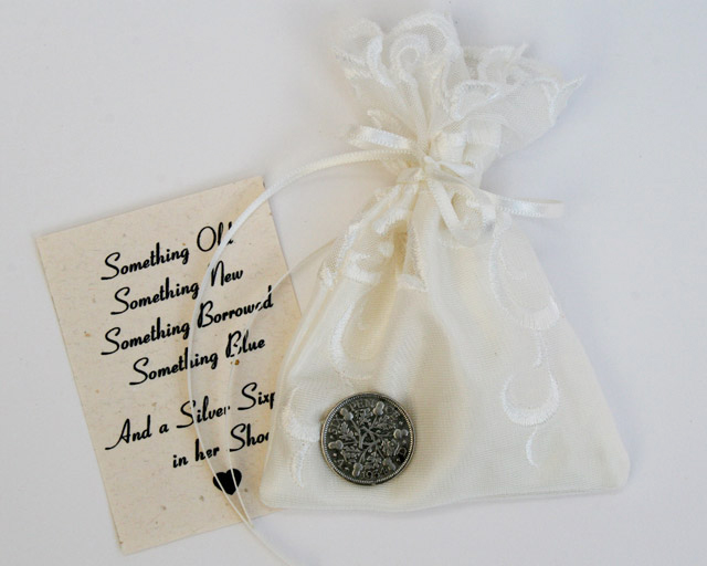 silver sixpence bruid schoen