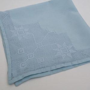 zakdoek something blue voor de bruid vintage