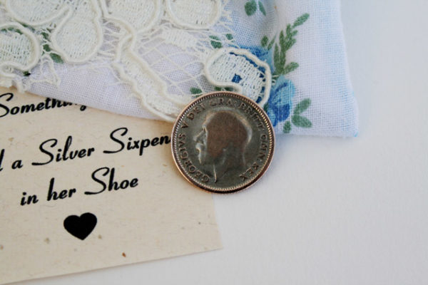 silver sixpence in your shoe