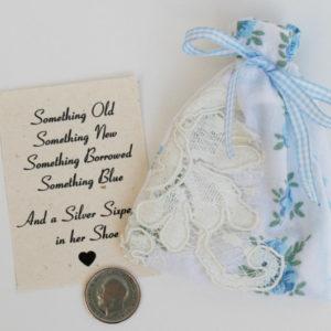 silver sixpence bruid bruiloft