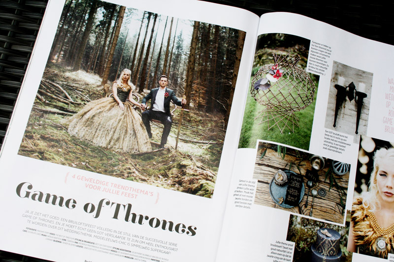 game of thrones photoshoot uniek ringkussen