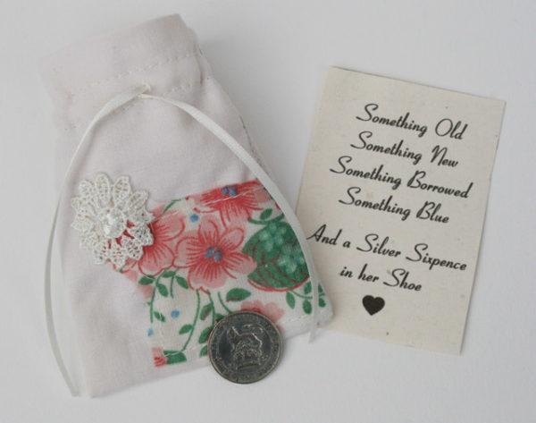 sixpence voor bruiloft