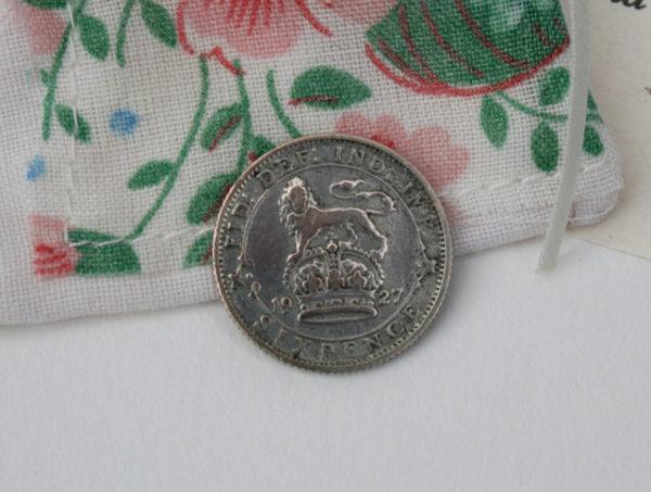 sixpence in her shoe, britse munt voor de bruid
