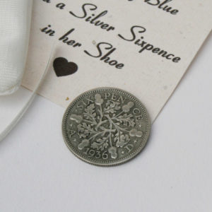 silver sixpence in her shoe