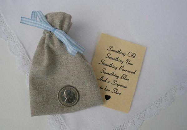 sixpence in her shoe, cadeautje voor de bruid, kopen in de webshop
