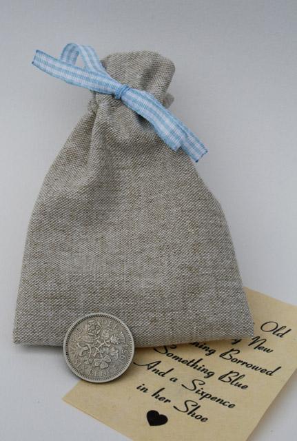 sixpence for her shoe kopen voor de bruid