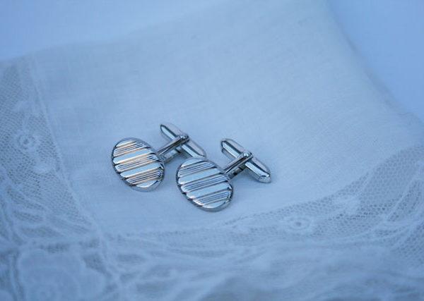zilveren manchetknopen 835 vintage goud stijlvol