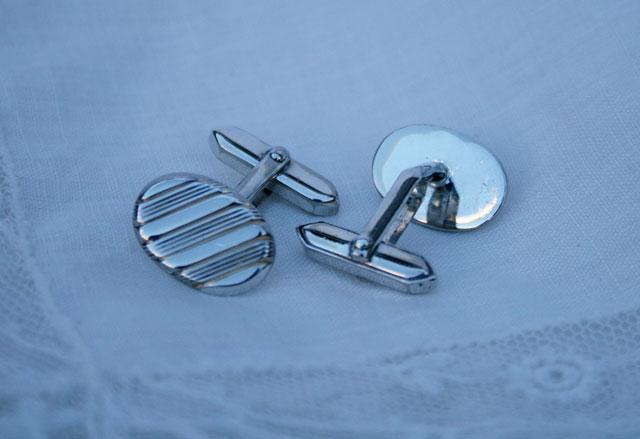Zilveren manchetknopen #4