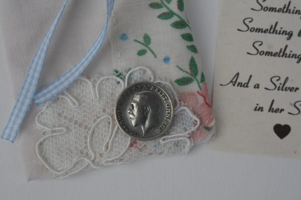 silver sixpence for your shoe