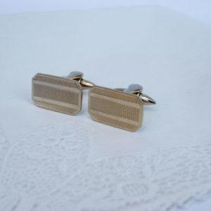 goudkleurige manchetknopen voor bruidegom goedkoop betaalbaar stijlvol