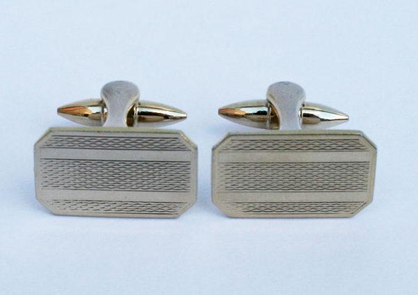 goudkleurige manchetknopen voor bruidegom betaalbaar mooi en stijlvol
