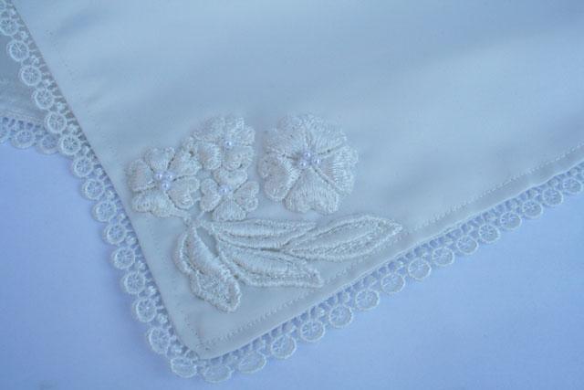 bruidszakdoekje Silk and Flowers nr. 5