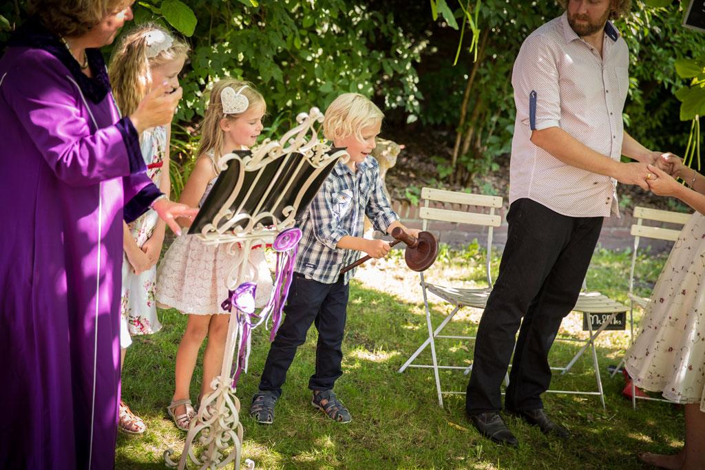 bruiloft trouwen kids kinderen tips ideeën voor de ceremonie