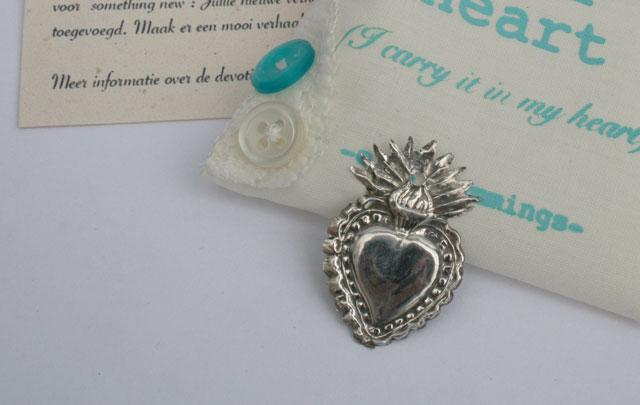 Devotiehartje #3 – zilver en bijzonder cadeau voor iemand die gaat trouwen