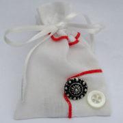 silver sixpence voor de bruid, cadeautje voor de bruid