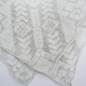 Vintage zakdoek, Frans, jaren 50