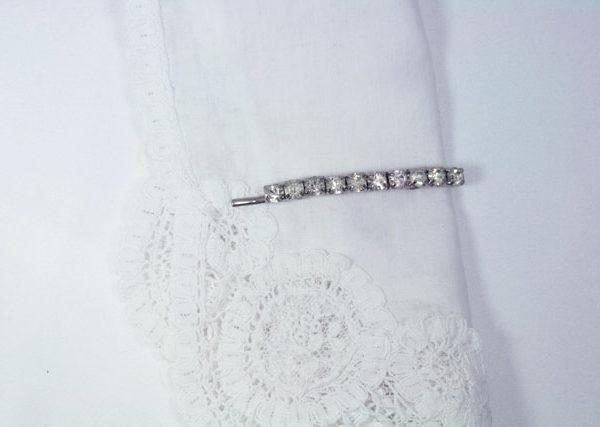 something old voor bruiloft, vintage haarspeld met strass, trouwen
