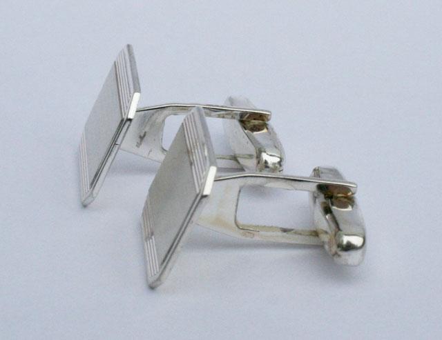 zilveren manchetknopen graveerbaar
