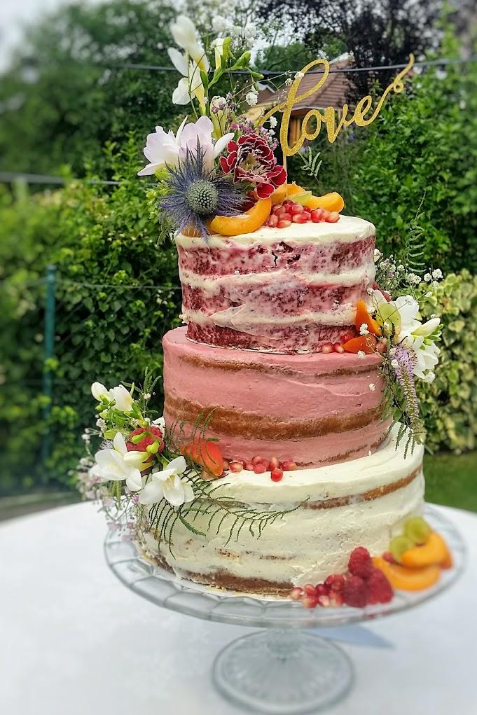 Bijzondere bruidstaart van Cheffi's Pastries and Parties