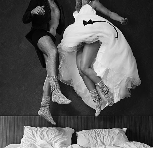 sokken van soxs, perfect cadeautje voor het bruidspaar