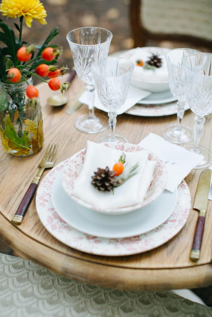 tafel dekken bruiloft