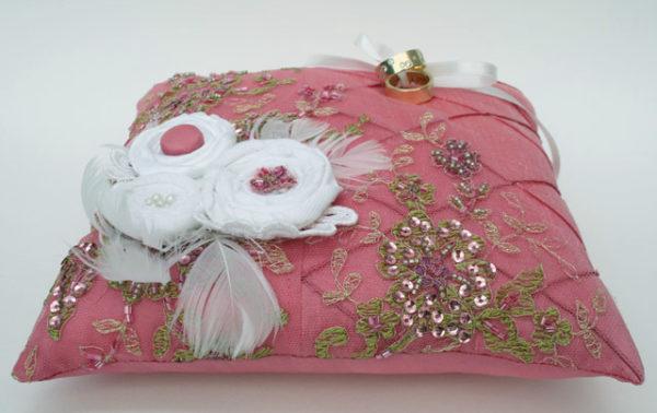 ringkussentje roze