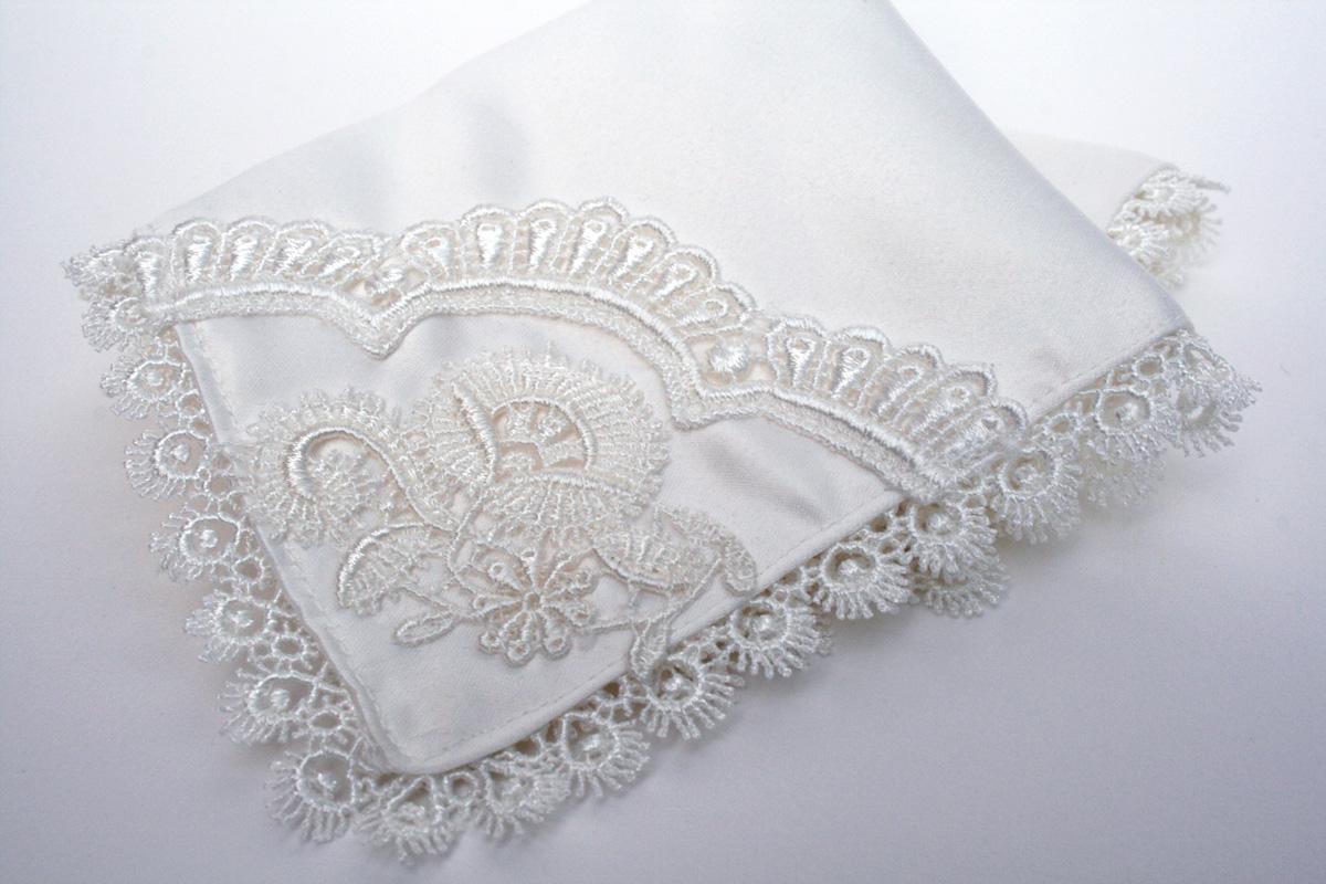 zakdoekje voor de bruid