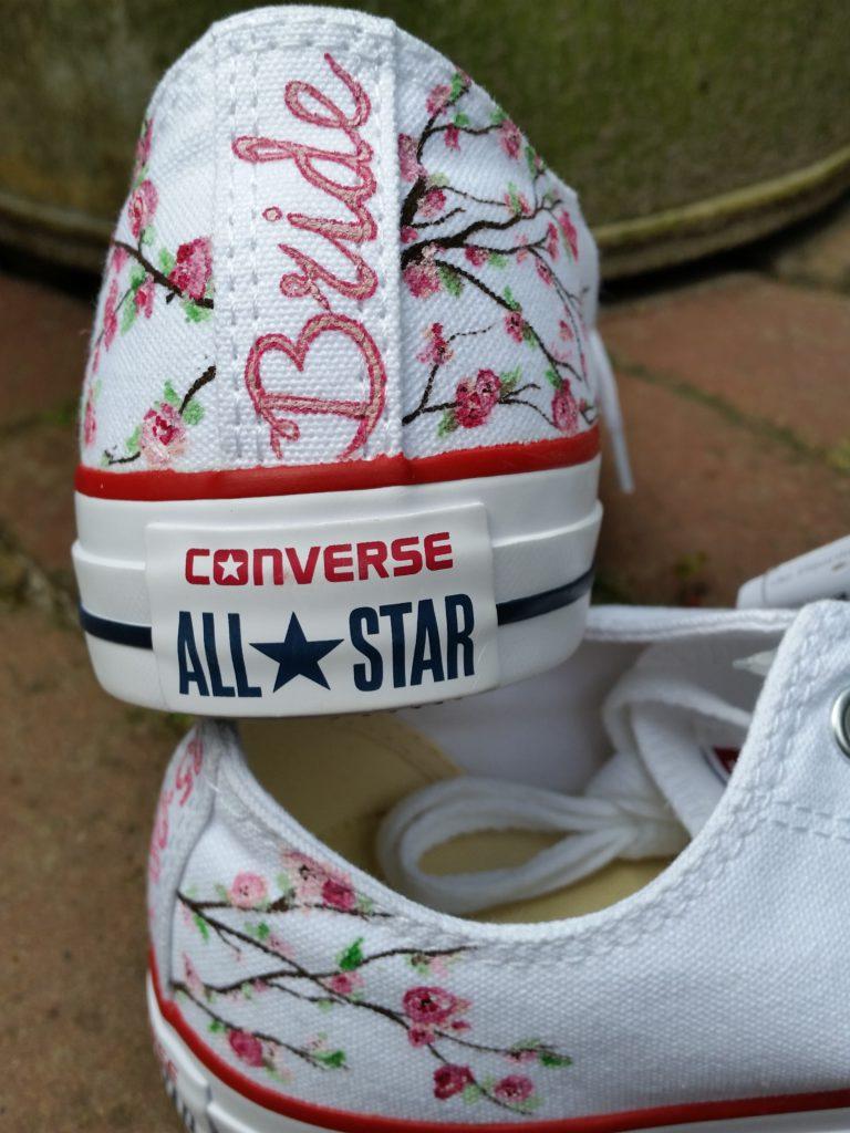 sneakers voor de bruid
