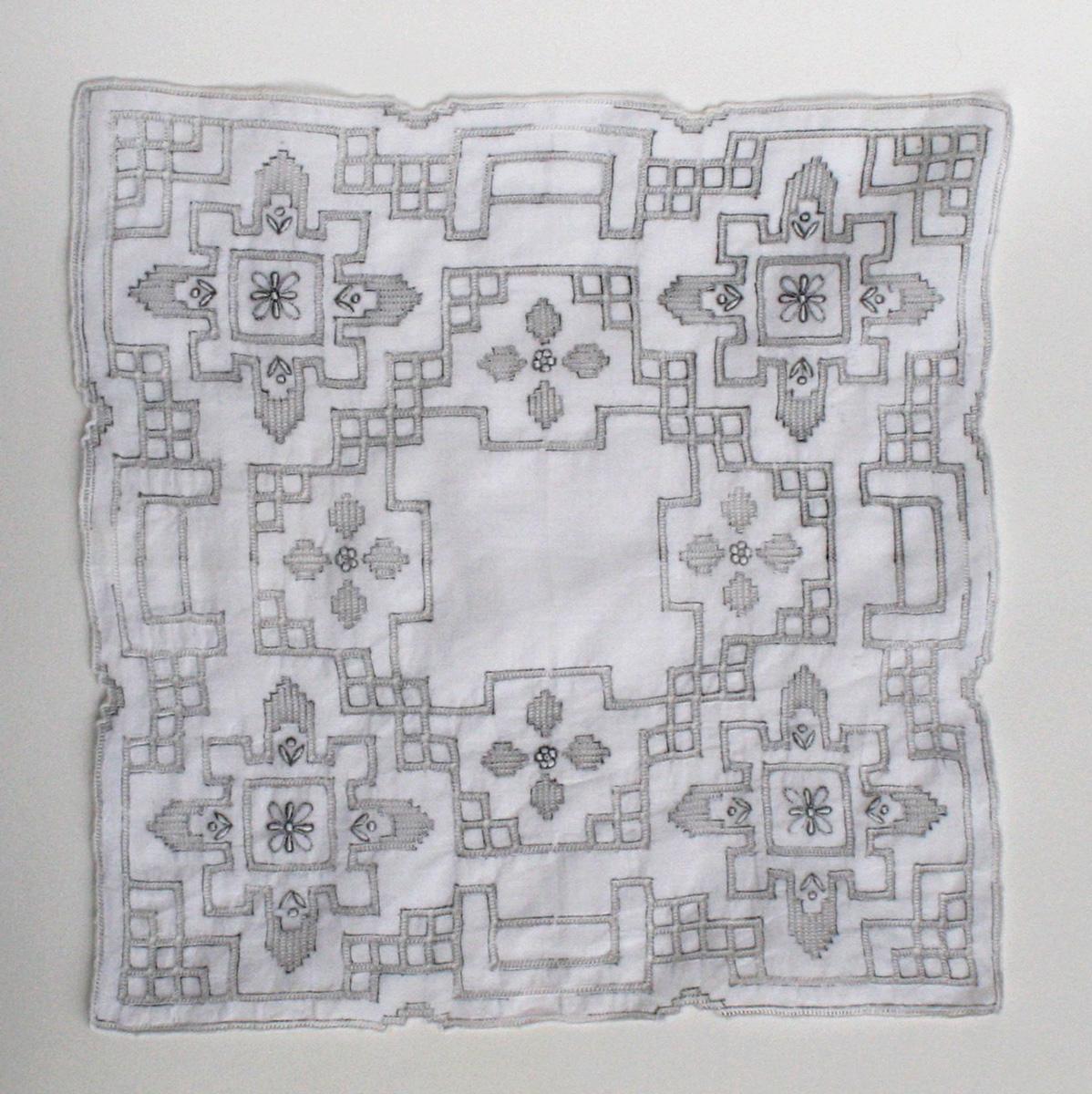 franse zakdoek uit jaren 50-60