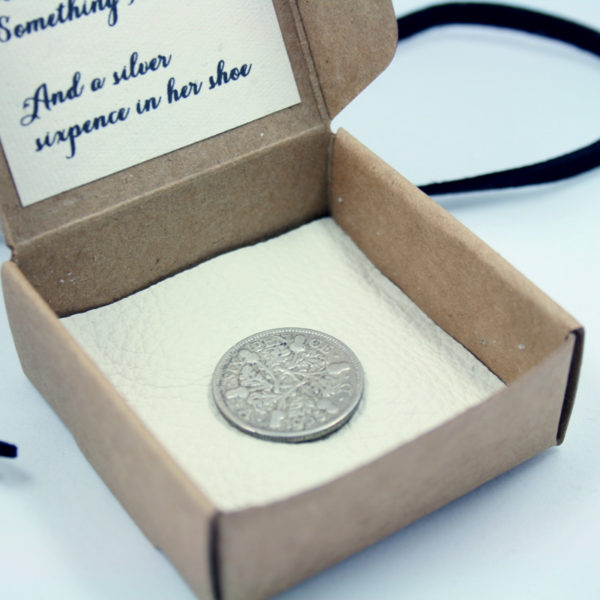 silver sixpence, and a sixpence in her shoe