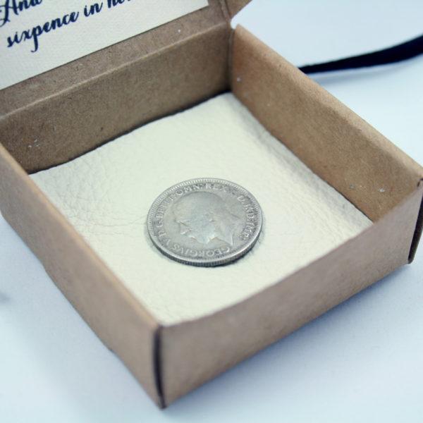 zilveren sixpence kopen