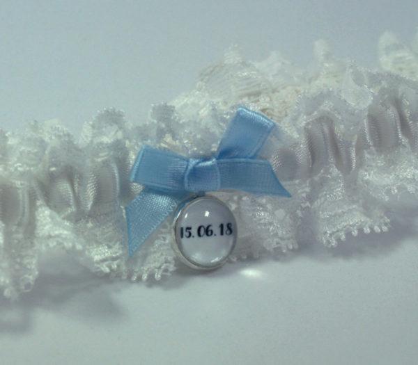 kousenband met trouwdatum