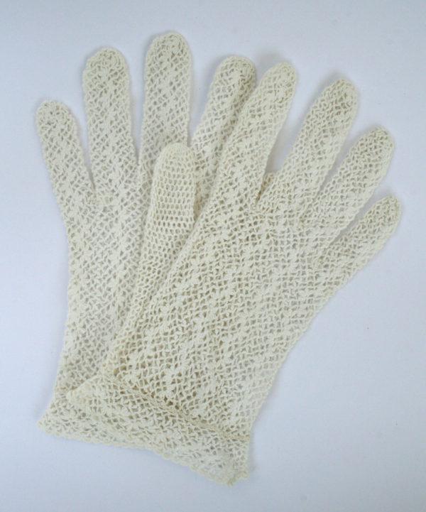vintage gehaakte handschoenen