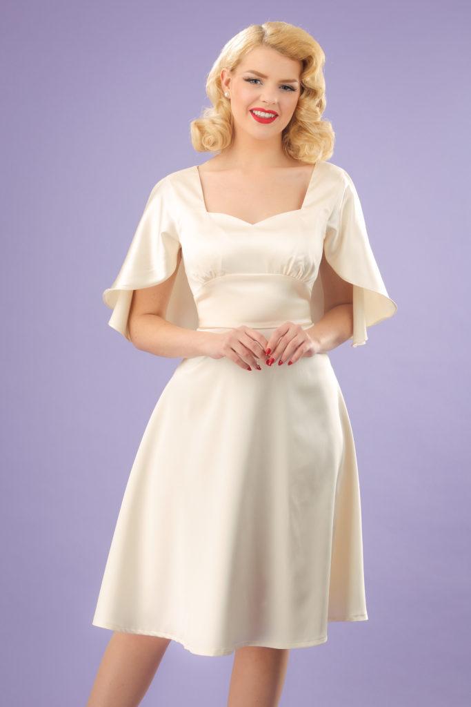 Jaren 30 bruidsjurk vintage stijl