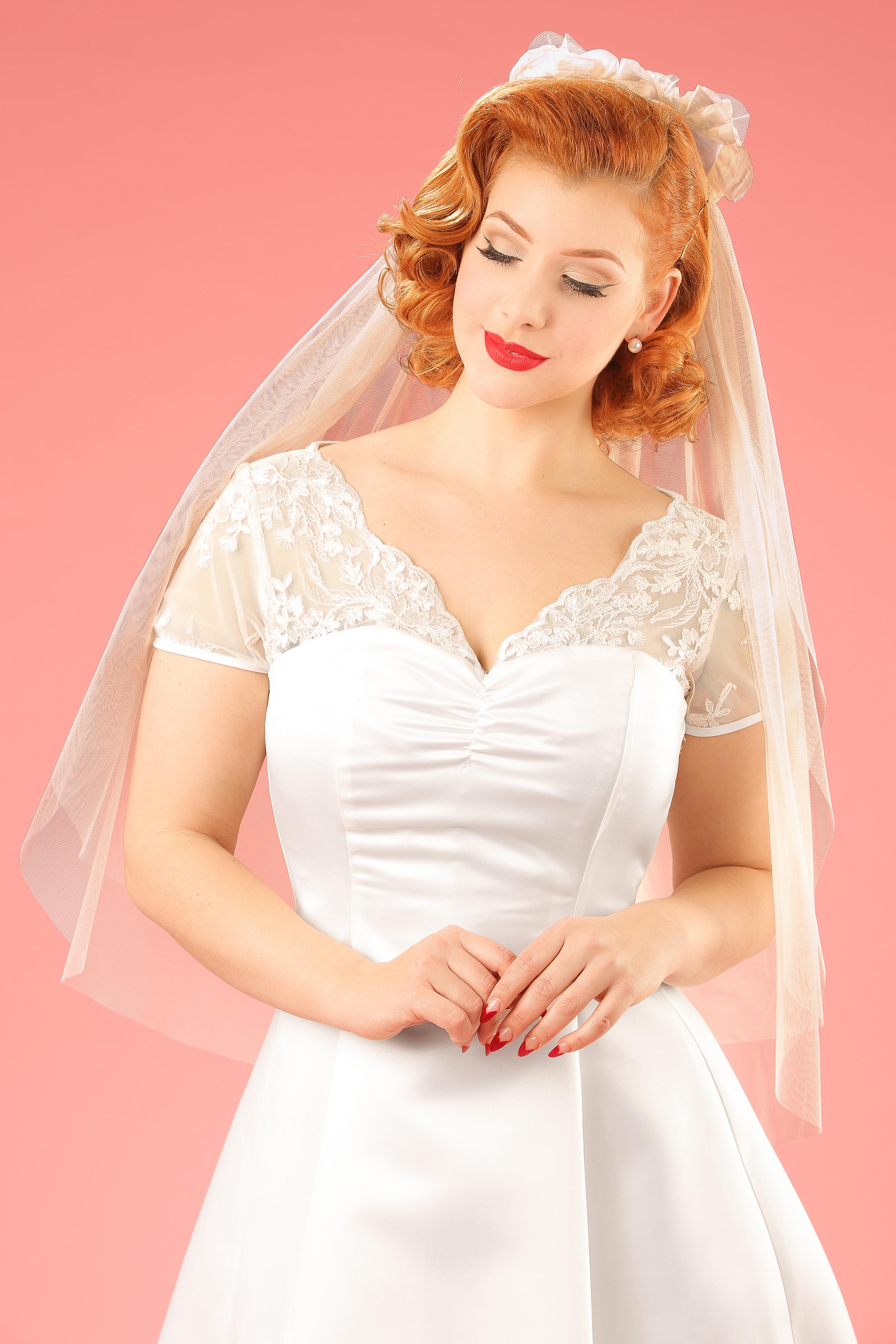 Uitzonderlijk Vintage stijl trouwjurken van Topvintage {voor een vavavoom effect} #YA56
