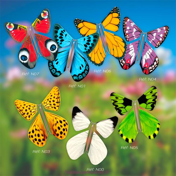 alternatief voor vlinders op een bruiloft: le papillon magique