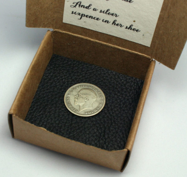 Silver sixpence 1932