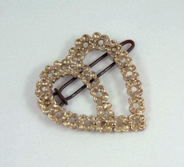 Vintage haarspeld in hartvorm