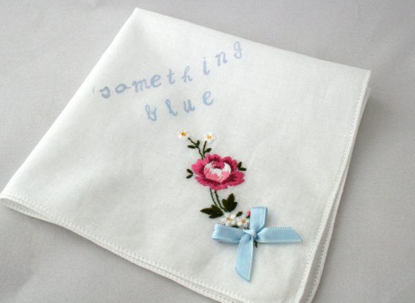 something blue zakdoekje #1