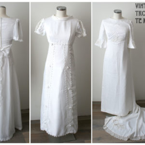 Vintage trouwjurken te koop