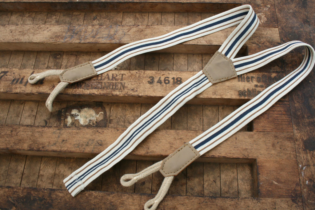 vintage bretels voor je bruidsjonker