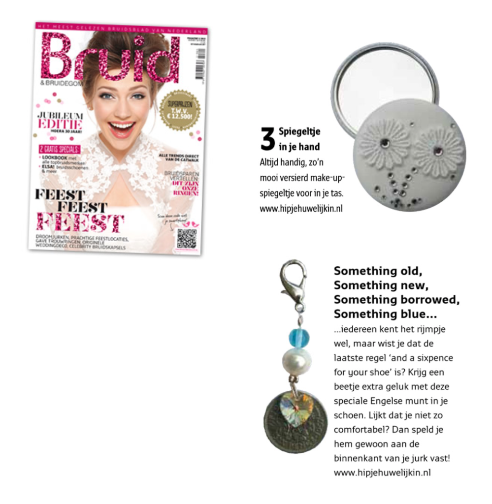 Hip je Huwelijk in in Bruid en Bruidegom Magazine