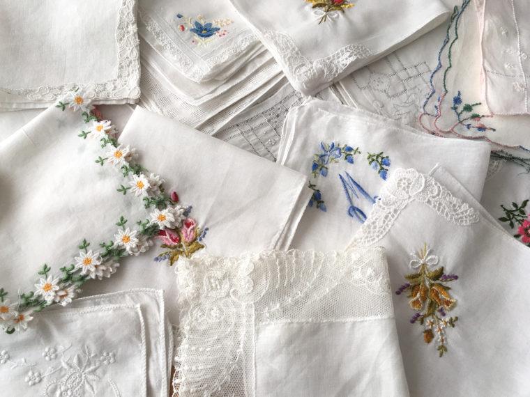 vintage zakdoekjes kopen