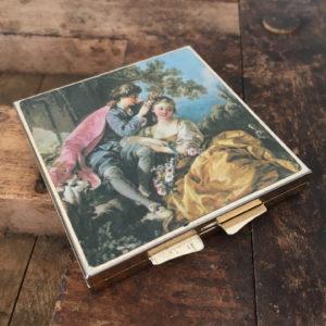 vintage zakspiegeltje voor de bruid